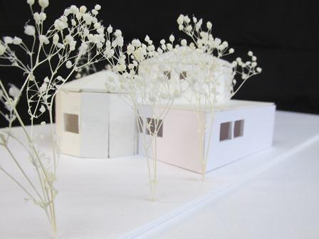 まほうのランプ建築模型